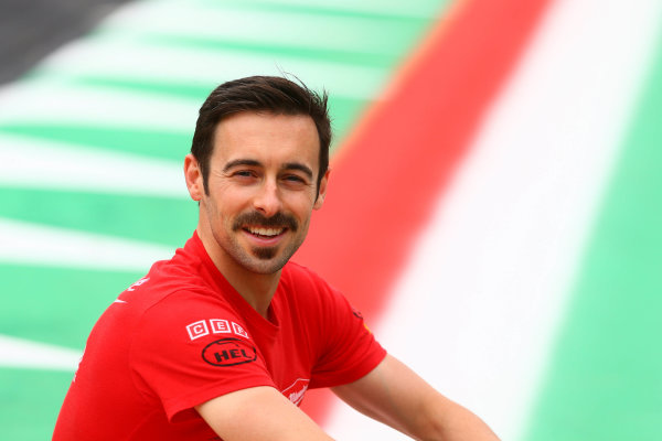 2017 Superbike World Championship - Round 5 Imola, Italy. Thursday 11 May 2017 Eugene Laverty, Milwaukee Aprilia World Superbike Team World Copyright: Gold and Goose Photography/LAT Images ref: Digital Image 669320