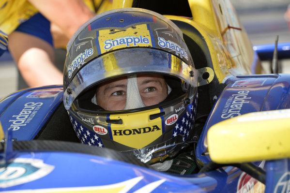Marco Andretti (USA) Andretti Autosport.Verizon IndyCar Series, Rd18, MAVTV 500, Auto Club Speedway, Fontana, USA, 29-30 August 2014.