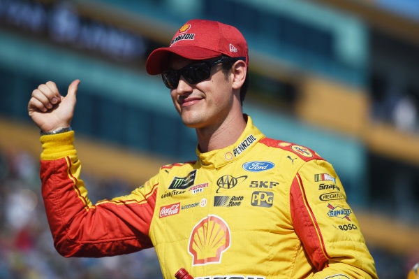 Monster Energy NASCAR Cup Series Homestead-Miami Speedway, Homestead, Florida USA Sunday 19 November 2017 Joey Logano, Team Penske, Ford Fusion World Copyright: Rainier Ehrhardt / LAT Images ref: Digital Image DSC_1390