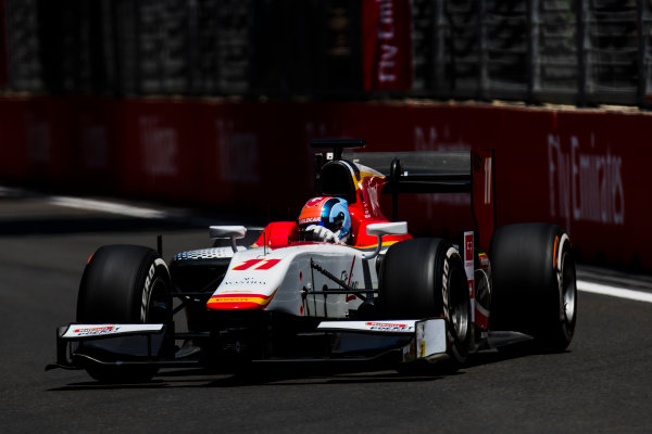 2017 FIA Formula 2 Round 4. Baku City Circuit, Baku, Azerbaijan. Friday 23 June 2017. Ralph Boschung (SUI, Campos Racing)  Photo: Zak Mauger/FIA Formula 2. ref: Digital Image _54I9876