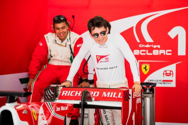 2017 FIA Formula 2 Round 4. Baku City Circuit, Baku, Azerbaijan. Friday 23 June 2017. Charles Leclerc (MCO, PREMA Racing)  Photo: Zak Mauger/FIA Formula 2. ref: Digital Image _56I6558