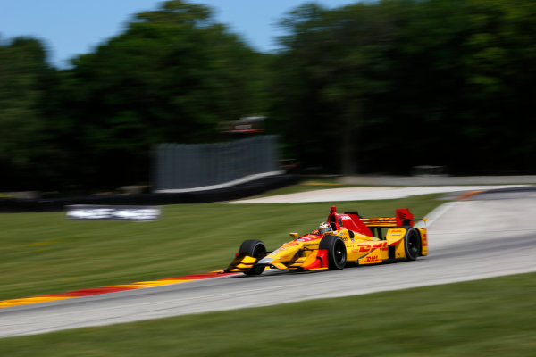 Verizon IndyCar Series Kohler Grand Prix Road America, Elkhart Lake, WI USA Friday 23 June 2017 Ryan Hunter-Reay, Andretti Autosport Honda World Copyright: Phillip Abbott LAT Images ref: Digital Image abbott_elkhart_0617_0161