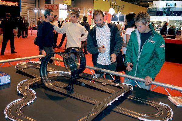 2005 Autosport International ExhibitionNEC, Birmingham, UK. 13th - 16th January.Scalextric. Atmosphere.World Copyright: Glenn Dunbar/LAT Photographicref: Digital Image Only