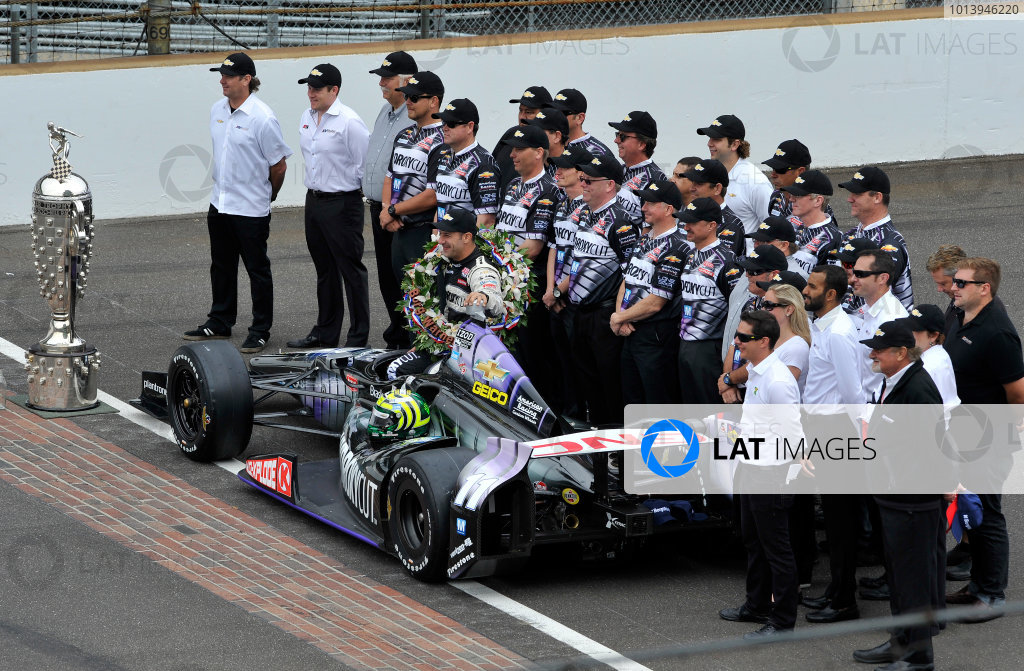 2013 IndyCar Indy 500 Race Winner's Portrait