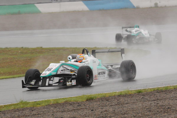 Motegi, Japan. 11th - 12th 2013. Rd 2. Race 1 - Winner  Yuichi Nakayama ( #36 PETRONAS TEAM TOM'S ) action World Copyright: Yasushi Ishihara/LAT Photographic Ref: 2013JF3_Rd3_02