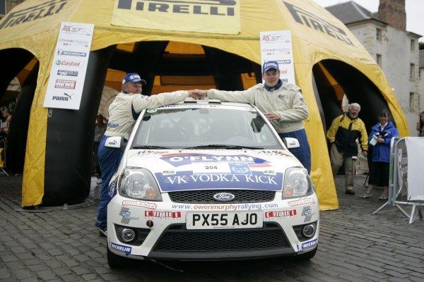 Owen MurphyJim Clark Rally2006 British Rally ChampionshipKelso, ScotlandWorldwide copyright: Ebrey/LAT Photographic