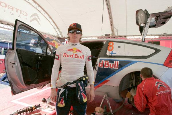 2010 FIA World Rally ChampionshipRound 01Rally Jordan 31/3 - 3/4  2010Kimi Raikkonen, Citroen WRC, PortraitWorldwide Copyright: McKlein/LAT