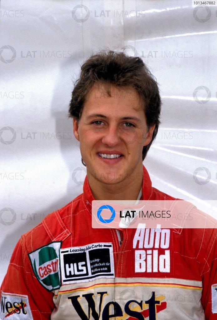 Michael Schumacher, portrait. Photo:LAT photographic