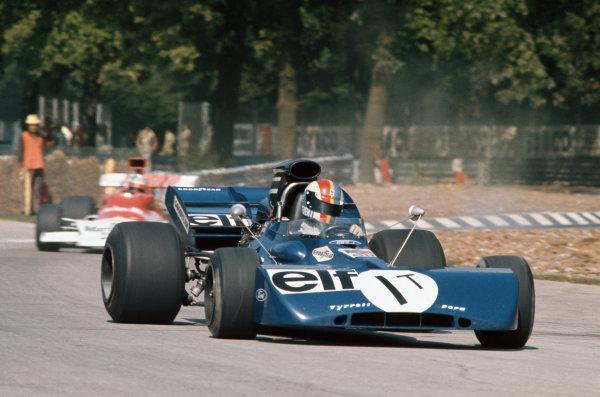 1972 Italian Grand Prix.  Monza, Italy. 8-10th September 1972.  François Cevert, Tyrrell 002 Ford, in practice.  Ref: 72ITA05. World Copyright: LAT Photographic
