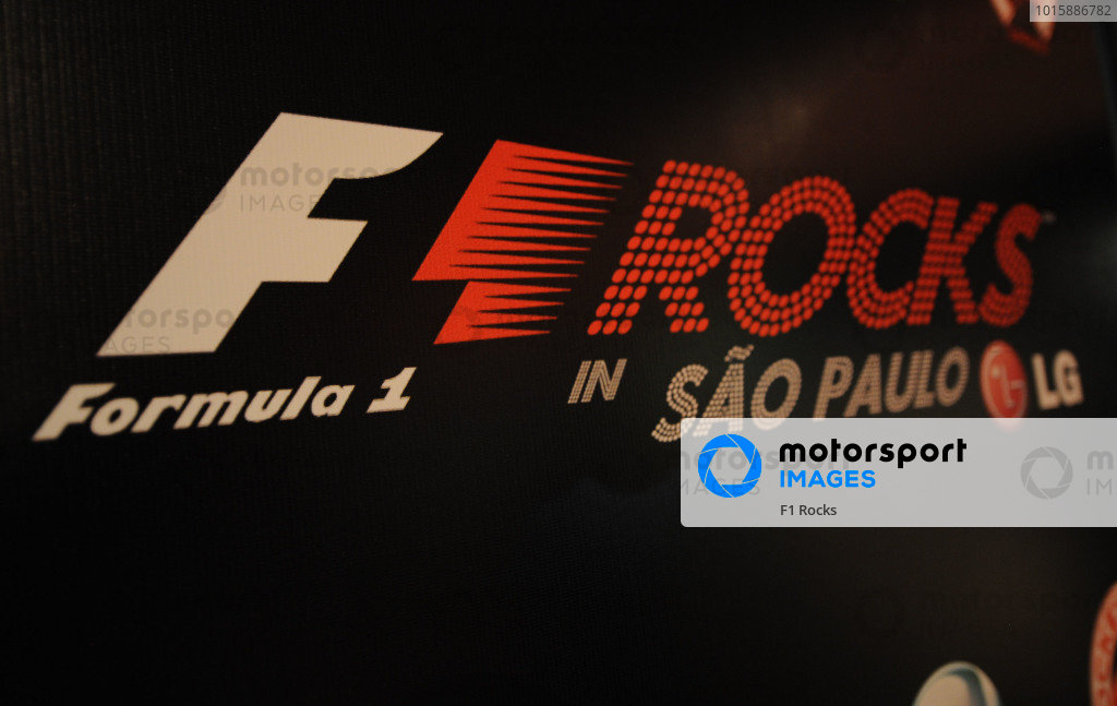 F1 Rock in Sao Paulo.F1 Rocks With LG, Sao Paulo, Brazil, 6-7 November 2010.