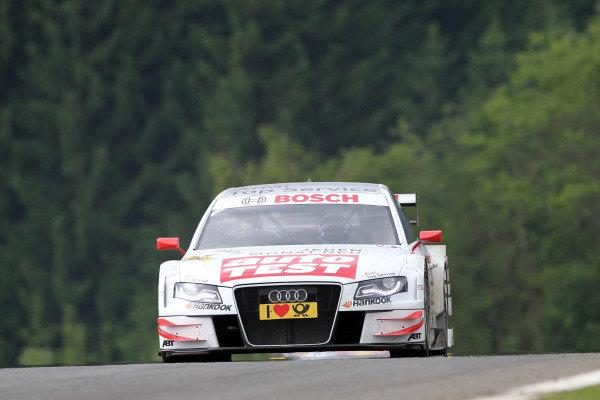 Timo Scheider (GER), Audi Sport Team Abt.DTM, Rd3, Red Bull Ring, Spielberg, Austria. 3-5 June 2011.