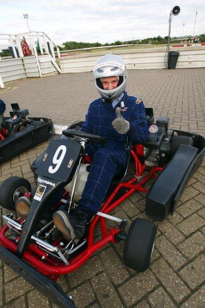 Richard Northan (GBR) Slipstream Interactive finished nineteenth.  Sutton Motorsport Images Annual Karting Grand Prix; Daytona International Raceway, Milton Keynes, England, 24 July 2003.DIGITAL IMAGE
