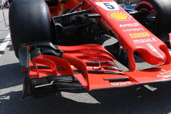 Ferrari SF-71H front wing