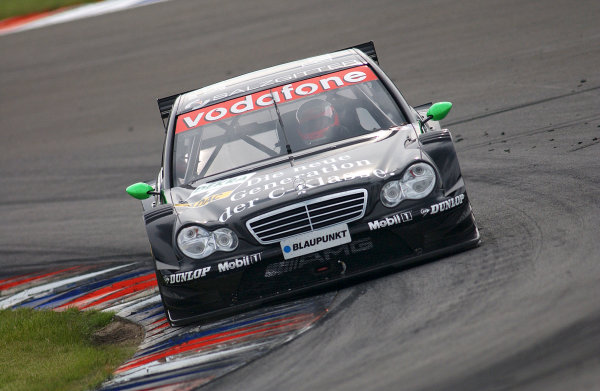 2004 DTM Championship Lausitzring. Germany. 4th - 6th june 2004. Gary Paffet (HWA Mercedes C-Class). Action.World Copyright: Andre Irlmeier/LAT Photographic ref: Digital Image Only