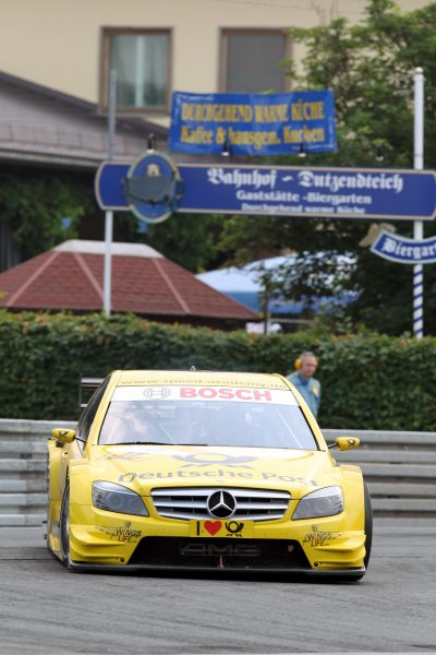 David Coulthard (GBR), AMG Mercedes C-Klasse (2008).DTM, Rd4, Norisring, Nuremberg, Germany. 2-4 July 2010 World Copyright: LAT PhotographicRef: Digital Image dne1004jy628