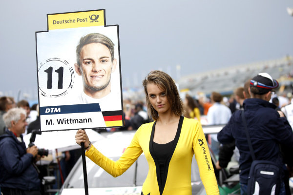 Grid girl of Marco Wittmann, BMW Team RMG.