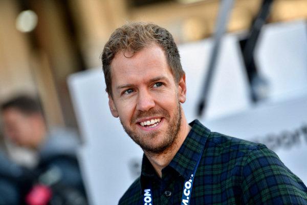 Sebastian Vettel (GER) at Audi Sport TT Cup, DTM Championship, Hockenheim, Germany, 14-15 October 2017.