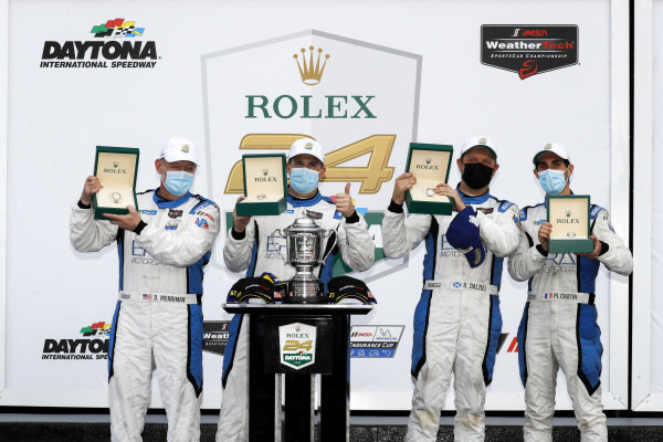 #18 Era Motorsport ORECA LMP2 07, LMP2: Kyle Tilley, Dwight Merriman, Paul-Loup Chatin, Ryan Dalziel winner, victory lane