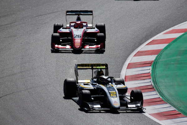Max Fewtrell (GBR, ART Grand Prix) and Marcus Armstrong (NZL, PREMA Racing)