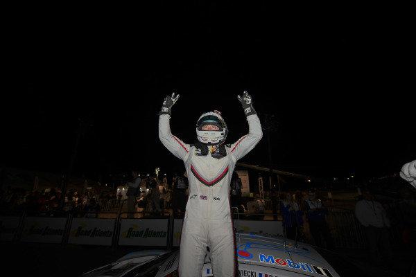 #911 Porsche Team North America Porsche 911 RSR, GTLM:  Nick Tandy