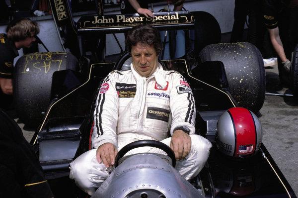 Mario Andretti, Lotus 79 Ford.