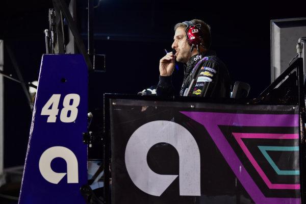 #48: Alex Bowman, Hendrick Motorsports, Chevrolet Camaro Ally crew chief Greg Ives