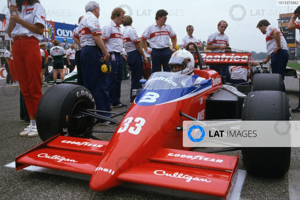 1985 Italian Grand Prix Photo Motorsport Images