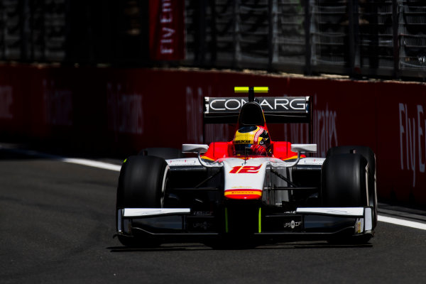 2017 FIA Formula 2 Round 4. Baku City Circuit, Baku, Azerbaijan. Friday 23 June 2017. Robert Visoiu (ROU, Campos Racing)  Photo: Zak Mauger/FIA Formula 2. ref: Digital Image _54I9646