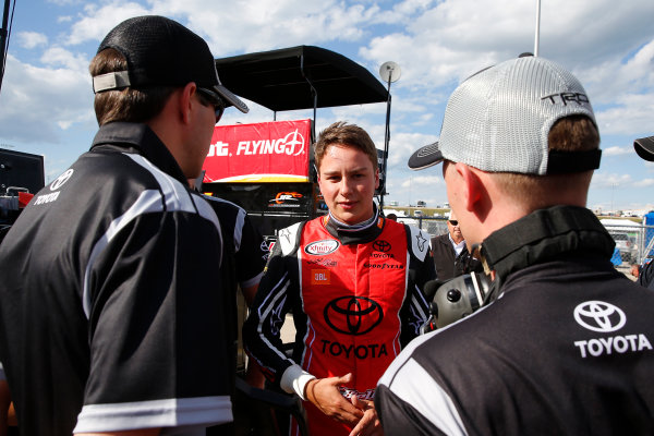 NASCAR XFINITY Series American Ethanol E15 250 presented by Enogen Iowa Speedway, Newton, IA USA Saturday 24 June 2017 Christopher Bell, ToyotaCare Toyota Camry World Copyright: Russell LaBounty LAT Images