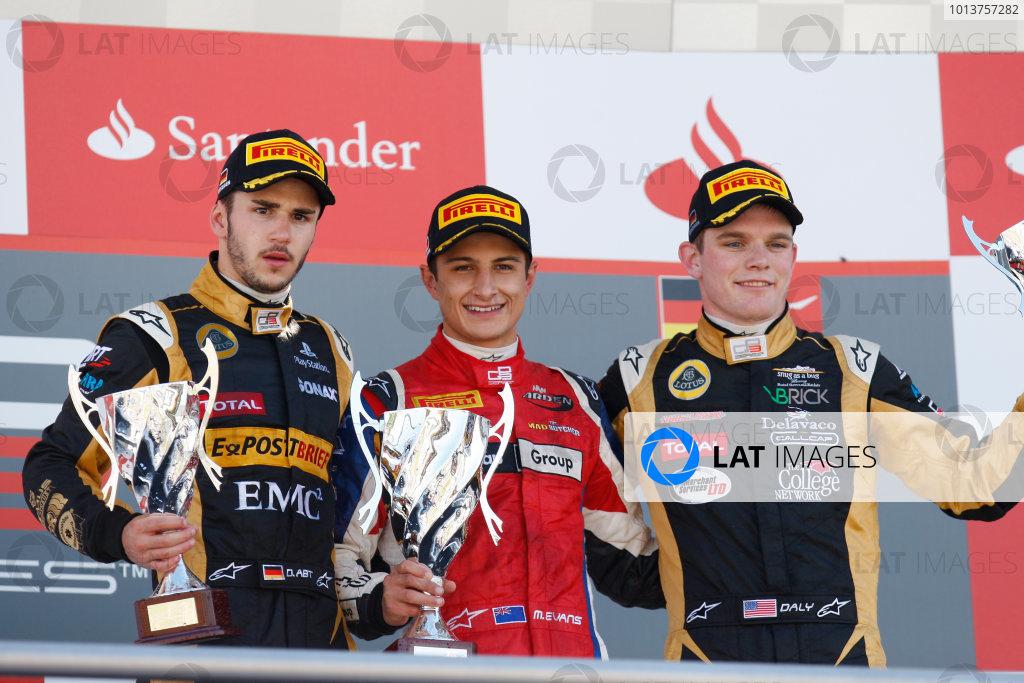 2012 GP3 Series. Round 5.