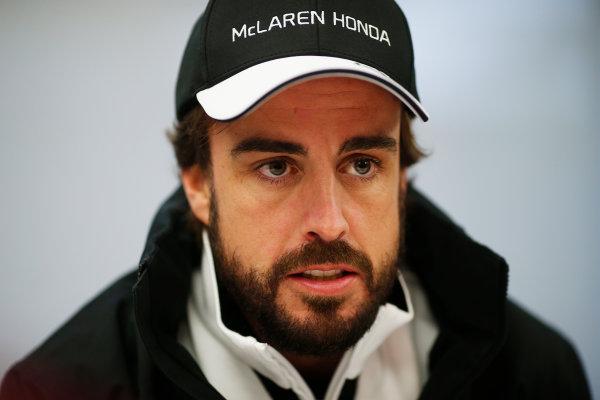 Shanghai International Circuit, Shanghai, China. Thursday 9 April 2015. Fernando Alonso, McLaren. World Copyright: Steven Tee/LAT Photographic. ref: Digital Image _X0W5231
