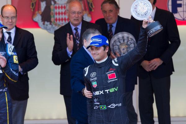 2014/2015 FIA Formula E Championship. Nelson Piquet Jr (BRA)/China Racing - Spark-Renault SRT_01E  Monaco ePrix Race. Monaco ePrix, Monte Carlo, Monaco, Europe. Saturday 9 May 2015  Photo: Adam Warner/LAT/Formula E ref: Digital Image _A8C7003
