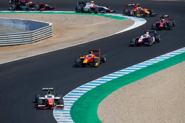 2017 FIA Formula 2 Round 10. Circuito de Jerez, Jerez, Spain. Sunday 8 October 2017. Sergio Sette Camara (BRA, MP Motorsport).  Photo: Zak Mauger/FIA Formula 2. ref: Digital Image _56I7559