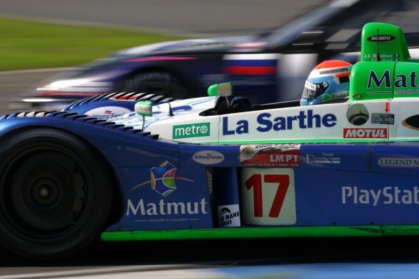 Didier Andre (FRA) Pescarolo Sport Pescarolo C60 Judd won the race.Le Mans Series, Rd4, Donington Park, England, 28 August 2006.DIGITAL IMAGE
