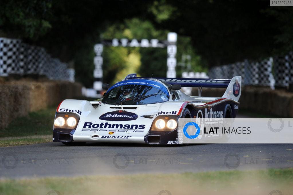 Goodwood, England3rd/4th/5th July 2009. Rothmans PorscheWorld Copyright: Jeff Bloxham/LAT PhotographicRef: Digital Image Only