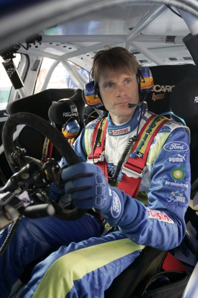 2007 FIA World Rally ChampionshipRound 13Rally of France, Tour de Course 200711-14 October 2007Marcus Gronholm, WRC Ford, Portrait.Worldwide Copyright: McKlein/LAT