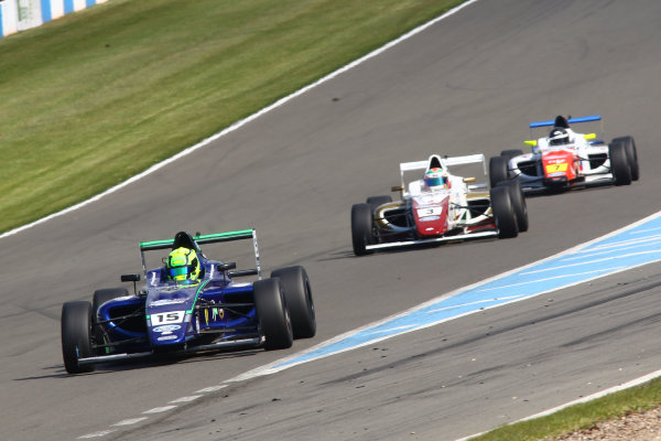 2016 MSA Formula Donington Park, 16th-17th April 2016, James Pull (GBR) Carlin MSA Formula  World copyright. Jakob Ebrey/LAT Photographic