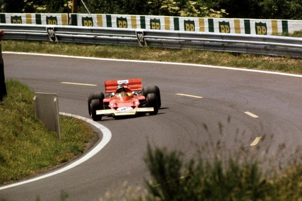 1970 French Grand Prix.Clermont-Ferrand, France.3-5 July 1970.Jochen Rindt (Lotus 72C Ford) 1st position.Ref-70 FRA 04.World Copyright - LAT Photographic