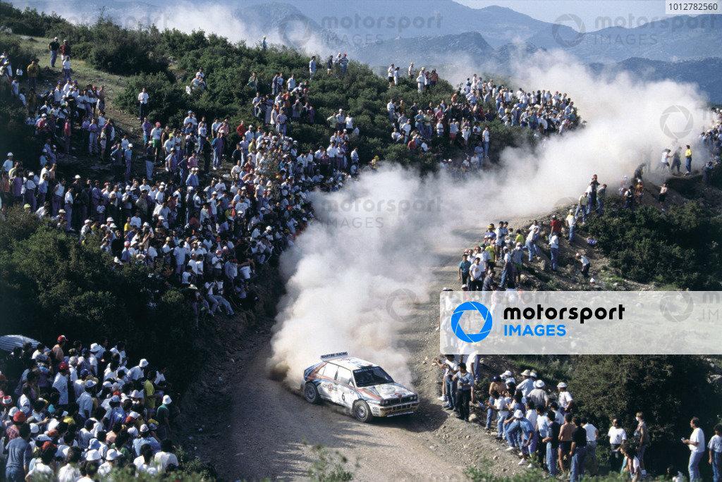 1992 Acropolis Rally.