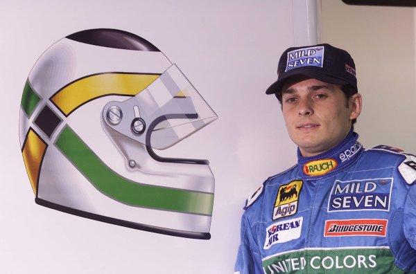 2000 Brazilian Grand Prix.Interlagos, Sao Paulo, Brazil.24-26 March 2000.Giancarlo Fisichella (Benetton Playlife) 2nd position.World Copyright - LAT Photographic