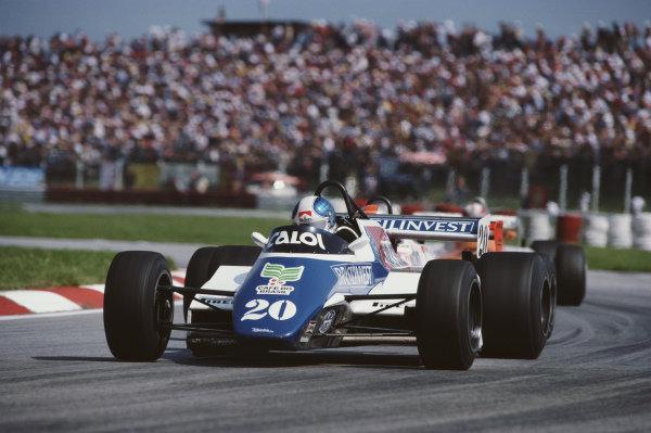 Chico Serra, Fittipaldi F9 Ford.