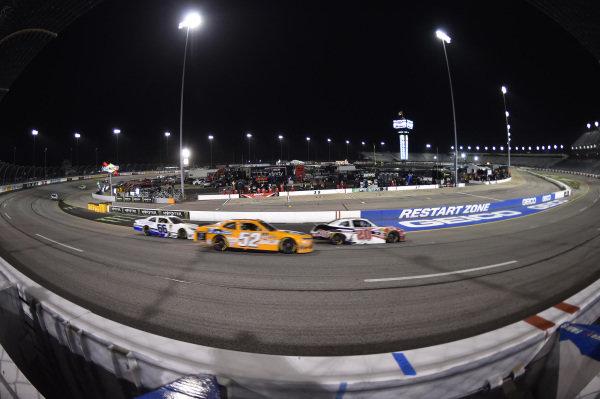 #52: David Starr, Means Motorsports, Chevrolet Camaro Extreme Kleaner, #20: Christopher Bell, Joe Gibbs Racing, Toyota Supra Ruud