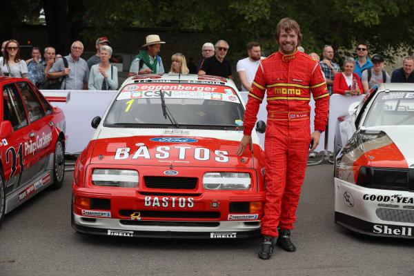 Michael Lyons (GBR) Ford Sierra Cosworth