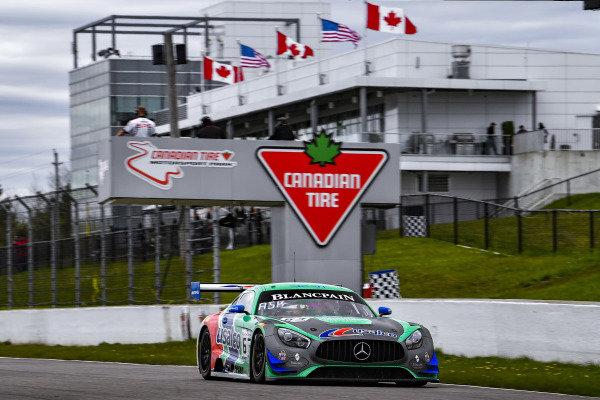 #63 Mercedes-AMG GT3 of David Askew and Ryan Dalziel