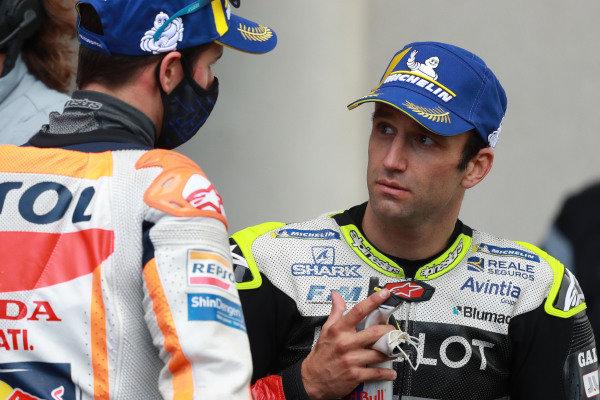Alex Marquez, Repsol Honda Team  Johann Zarco, Avintia Racing.