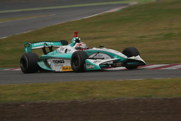 Suzuka, Japan. 9th - 10th November 2013. Rd 7. Race 2. Winner Kazuki Nakajima ( #1 PETRONAS TEAM TOM'S ) action World Copyright: Yasushi Ishihara/LAT Photographic. Ref: 2013SF_Rd7_023