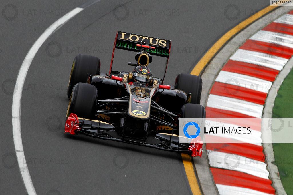 Albert Park, Melbourne, Australia25th March 2011.Nick Heidfeld, Lotus Renault GP R31.World Copyright: Andrew Ferraro/LAT Photographicref: Digital Image _Q0C7891