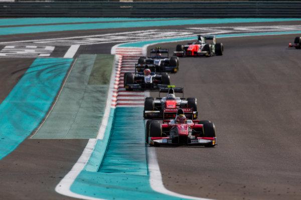 2017 FIA Formula 2 Round 11. Yas Marina Circuit, Abu Dhabi, United Arab Emirates. Sunday 26 November 2017. Charles Leclerc (MCO, PREMA Racing).  Photo: Zak Mauger/FIA Formula 2. ref: Digital Image _X0W9821