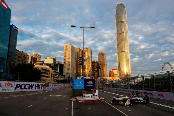 2017/2018 FIA Formula E Championship. Round 1 - Hong Kong, China. Saturday 02 December 2017.Daniel Abt (GER), Audi Sport ABT Schaeffler, Audi e-tron FE04. Photo: Sam Bloxham/LAT/Formula E ref: Digital Image _J6I3832