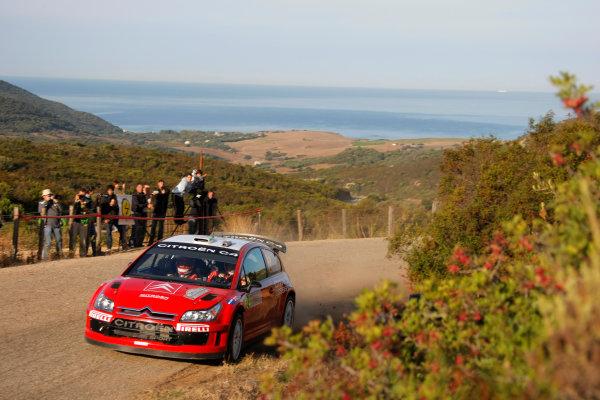 Round 12, Rally of France, Tour de Corse7th - 10th October 2008Conrad Rautenbach, Citroen, actionWorldwide Copyright: McKlein/LAT